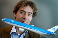 Amsterdam - Roderik Rodermond van de KLM.