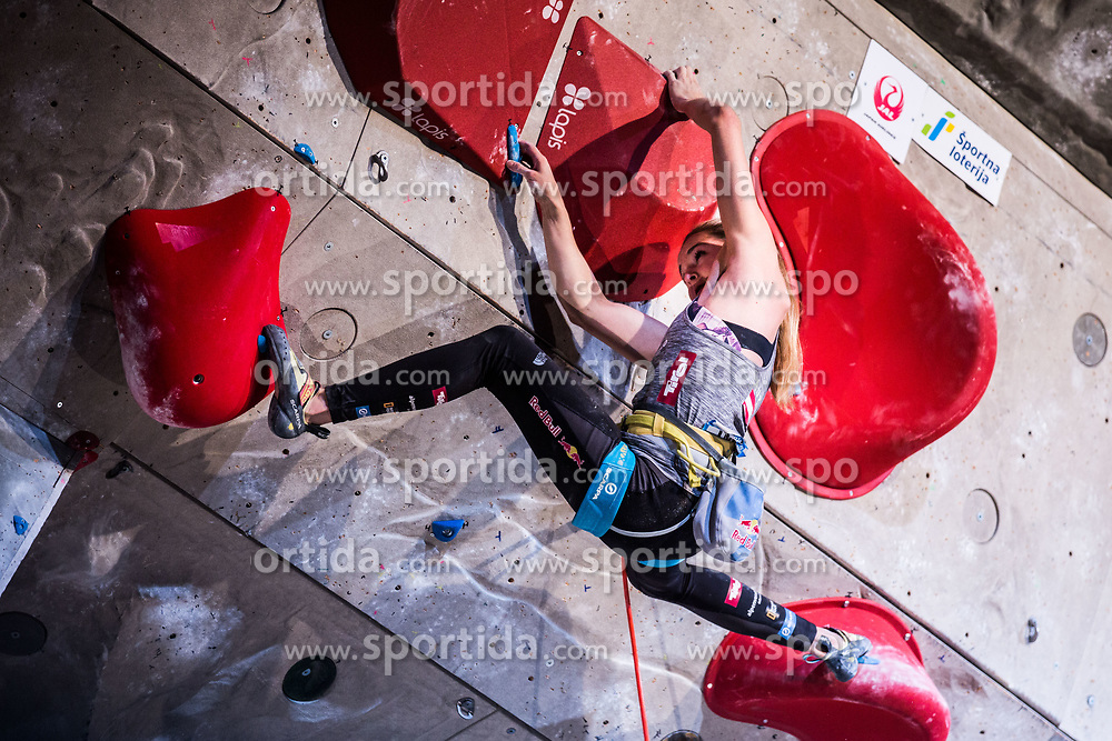 PILZ Jessica of Austria after Finals IFSC World Cup Competition in sport climbing Kranj 2019, on September 29, 2019 in Arena Zlato polje, Kranj, Slovenia. Photo by Peter Podobnik / Sportida