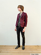 Brad, A young indie kid wearing retro, vintage clothing, Southend, UK 2006