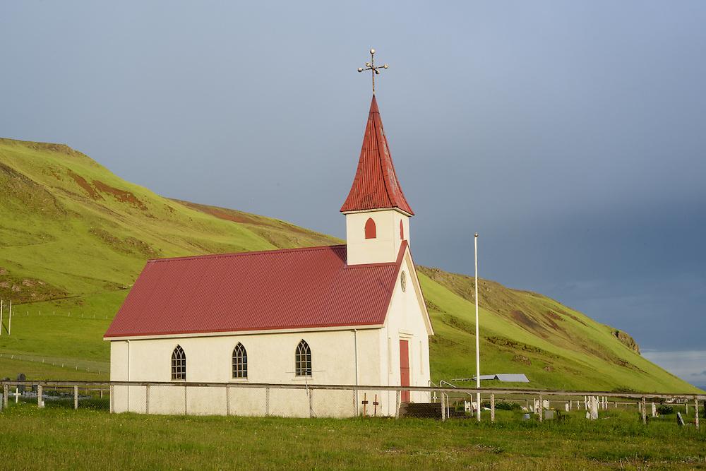 Church near Vik, Iceland