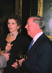 The EARL & COUNTESS OF HALIFAX, at an exhibition in London on January 7th 1998.MEK 54