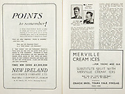 All Ireland Senior Hurling Championship Final,.Brochures,.01.09.1946, 09.01.1946, 1st September 1946, .Cork 7-5, Kilkenny 3-8, .Minor Dublin v Tipperary.Senior Cork v Kilkenny.Croke Park, ..Advertisements- Merville Cream Ices Craigie Bros. Tolka Vale Finglas, New Ireland Assurance Company Ltd,