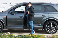 "Francisco Roman ""Isco"" of Real Madrid CF poses for a photograph after being presented with a new Audi car as part of an ongoing sponsorship deal with Real Madrid at their Ciudad Deportivo training grounds in Madrid, Spain. November 23, 2017. (ALTERPHOTOS/Borja B.Hojas)"