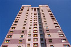 High rise block of flats,