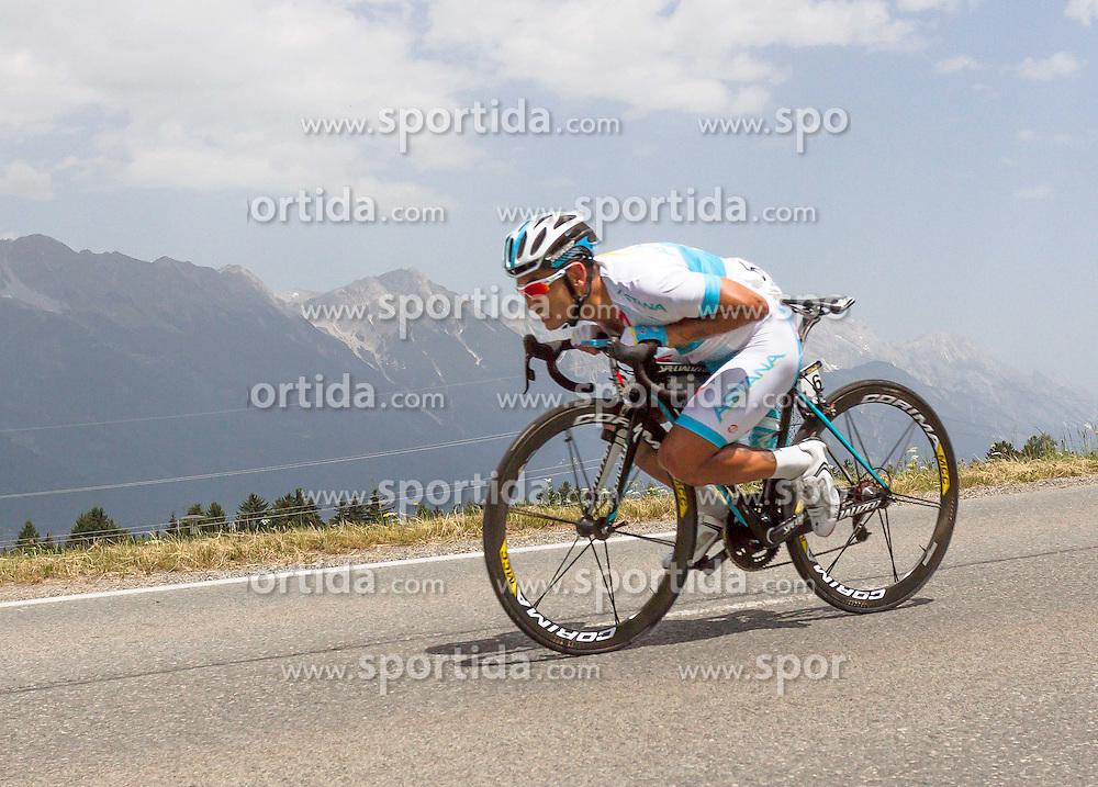 01.07.2012, Innsbruck, AUT, 64. Oesterreich Rundfahrt, 1. Etappe, EZF Innsbruck, im Bild Assan Bazayev (KAZ) during the 64rd Tour of Austria, Stage 1, Individual time trial in Innsbruck, Austria on 2012/07/01