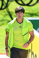 Joachim Loew, head coach of Germany pictured during training at Stadio Communale, Ascona, Switzerland.<br /> Picture by EXPA Pictures/Focus Images Ltd 07814482222<br /> 25/05/2016<br /> ***UK &amp; IRELAND ONLY***<br /> EXPA-EIB-160525-0001.JPG
