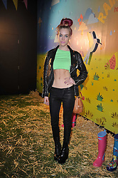 MARY CHARTERIS at a party to celebrate the global launch of the Iconic Brazilian lifestyle brand Havaianas Wellies range held at Selfridges, Oxford Street, London on 14th April 2011.