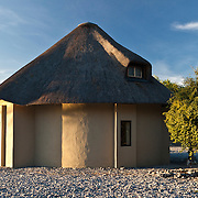 Upscale guest huts in Etosha N.P. Namibia.
