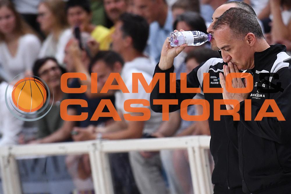 Carmelo Paternico arbitro<br /> Dolomiti Energia Aquila Basket Trento - EA7 Emporio Armani Olimpia Milano<br /> Playoff - Finale - Gara 6<br /> LegaBasket Serie A 2017/2018<br /> Trento, 15/06/2018<br /> Foto M.Ceretti / Ciamillo-Castoria