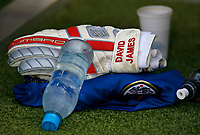 Photo: Glyn Thomas.<br />England v Ecuador. 2nd Round, FIFA World Cup 2006. 25/06/2006.<br /> England's reserve goalkeeper David James' gloves and equipment.