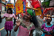 Kavadi dancers at a small street festival off Jampettah Street in Colombo 13.