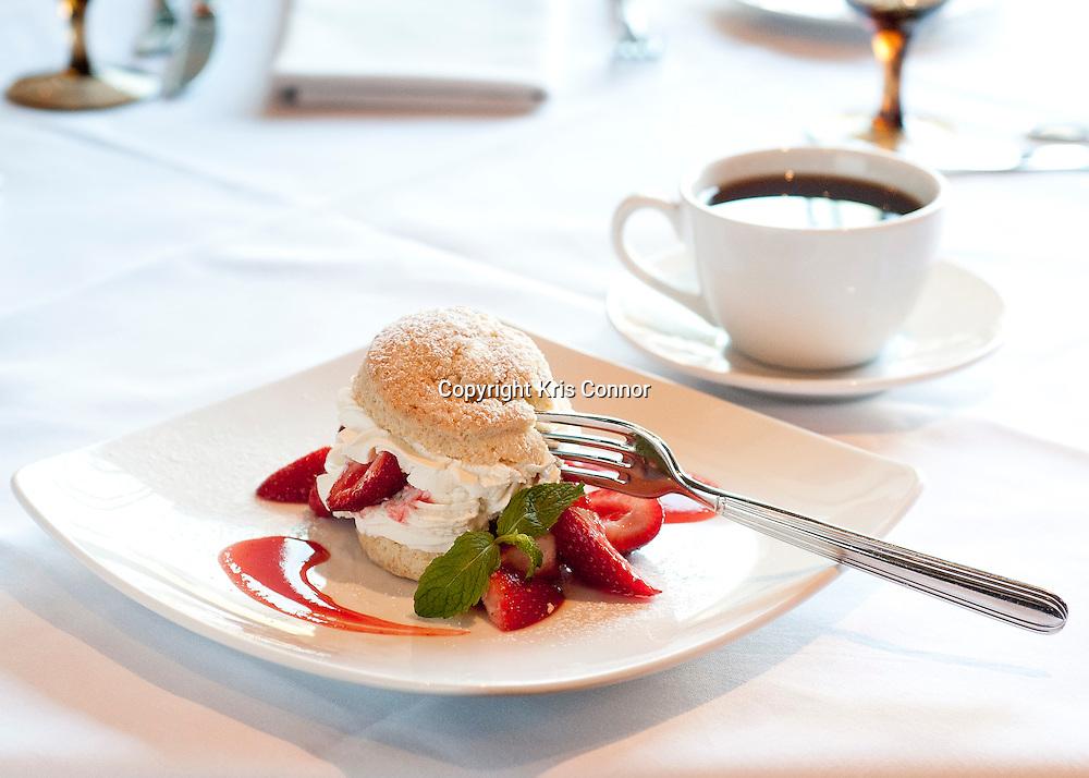 050310-WashingtonDC-The Strawberry Short Cake at RIS restuarant in Washington DC. Photo by Kris Connor