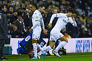 Leeds United defender Pascal Struijk (34) in action during the EFL Sky Bet Championship match between Leeds United and Hull City at Elland Road, Leeds, England on 10 December 2019.