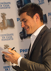 OCT 18 2012 Iker Casillas, New Face of Philips