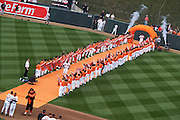 Opening Day at Oriole Park at Camden Yards on Friday, April 9, 2010.