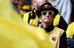 A watford fan before kick off - Mandatory by-line: Arron Gent/JMP - 18/05/2019 - FOOTBALL - Wembley Stadium - London, England - Manchester City v Watford - Emirates FA Cup Final