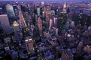 View of midtown Manhattan, New York from Empire State Building, USA