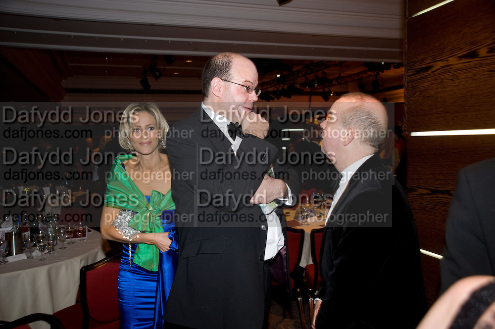 Emily Maitlis; Mark Lawson; Ian Hislop, The Costa Book of the Year Award at the Costa Book Awards. The Intercontinental Hotel, Hamilton Place. London. 27 January 2009 *** Local Caption *** -DO NOT ARCHIVE -Copyright Photograph by Dafydd Jones. 248 Clapham Rd. London SW9 0PZ. Tel 0207 820 0771. www.dafjones.com<br /> Emily Maitlis; Mark Lawson; Ian Hislop, The Costa Book of the Year Award at the Costa Book Awards. The Intercontinental Hotel, Hamilton Place. London. 27 January 2009