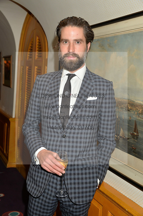 JACK GUINNESS at an exclusive dinner for Iris Apfel held at Annabel's, Berkeley Square, London on 29th July 2015.