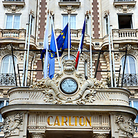 Intercontinental Carlton Hotel in Cannes, France <br />