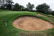 Right side bunkers on the 2nd, at The Wanderers Golf Club, Gauteng, Johannesburg, South Africa.  12/01/2016. Picture: Golffile | David Lloyd<br /> <br /> All photos usage must carry mandatory copyright credit (© Golffile | David Lloyd)