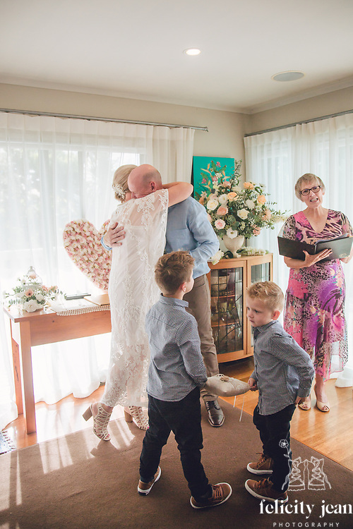 Bryce & Anna's intimate wedding in Thames on the Coromandel Peninsula photography by Felicity jean Photography
