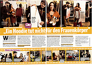 On Assignment for OK Magazine: Filming of the TV Show Schrankalarm.<br /> Published in OK Magazin 2017.