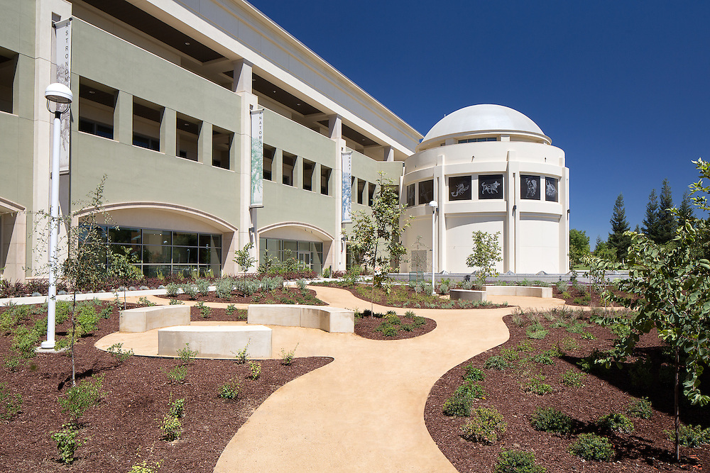 Images of the Modesto Junior College Science Building and Museum