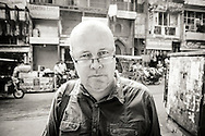 Zac O'Yeah, Swedish crime fiction and travel writer based in India.