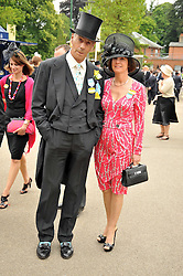 HENRY CECIL and his wife at the Royal Ascot racing festival 2009 held on 17th June 2009.