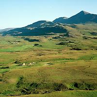 Nautabú séð til suðurs, Mælifell í bakgrunni, Lýtingsstaðahtreppur / Natuabu viewing south, mount Maelifell in backgr. Lytingsstadahreppur.