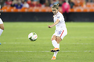 20 October 2014: Meghan Klingenberg (USA). The United States Women's National Team played the Haiti Women's National Team at RFK Memorial Stadium in Washington, DC in a 2014 CONCACAF Women's Championship Group A game, which serves as a qualifying tournament for the 2015 FIFA Women's World Cup in Canada. The U.S. won the game 6-0.
