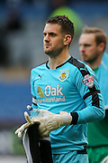 Burnley goalkeeper Thomas Heaton  during the Sky Bet Championship match between Burnley and Brighton and Hove Albion at Turf Moor, Burnley, England on 22 November 2015. Photo by Simon Davies.