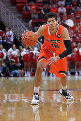 10 December 2016:  Chandler Rowe during an NCAA  mens basketball game between the UT Martin Skyhawks and the Illinois State Redbirds in a non-conference game at Redbird Arena, Normal IL