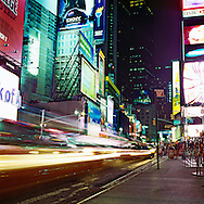 Times Square, New York City.  The center of the world.