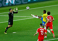 Paulinho (Brazil) scoring the goal of 0-1 Gol Paulinho <br /> Moscow 27-06-2018 Football FIFA World Cup Russia  2018 <br /> Serbia - Brazil / Serbia - Brasile<br /> Foto Matteo Ciambelli/Insidefoto