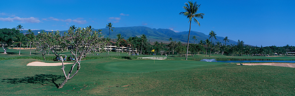 Kaanapali Golf Course, Maui, Hawaii<br />