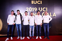 Total Direct Energie at UCI Cycling Gala 2019 in Guilin, China on October 22, 2019. Photo by Sean Robinson/velofocus.com