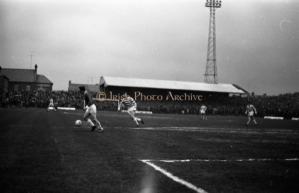 28/04/1965<br /> 04/28/1965<br /> 28 April 1965<br /> F.A.I. Cup Final replay Shamrock Rovers v Limerick at Dalymount Park, Dublin. Rovers won the title 1-0.