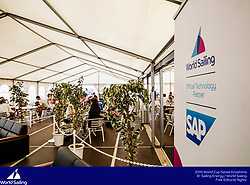 From 9 to 16 September 2018, the Tokyo 2020 Olympic Sailing Competition venue in Enoshima, Japan, will host sailors for the first event of the 2019 World Cup Series. More than 450 sailors from 45 nations will race in the 10 Olympic events.  &copy;JESUS RENEDO/SAILING ENERGY/ WORLD SAILING<br /> 13 September, 2018.