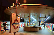 West Hampstead Station, Night