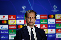February 19, 2019 - Madrid, MADRID, SPAIN - during the press conference before the Champions League football match between Atletico de Madrid and Juventus at Wanda Metropolitano stadium, Madrid, Spain, Februeary 19th 2019. (Credit Image: © AFP7 via ZUMA Wire)