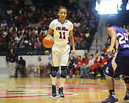 Ole MIss' Kenyotta Jenkins (11) vs. Northwestern State in women's college basketball action in Oxford, Miss. on Friday, November 16, 2012.