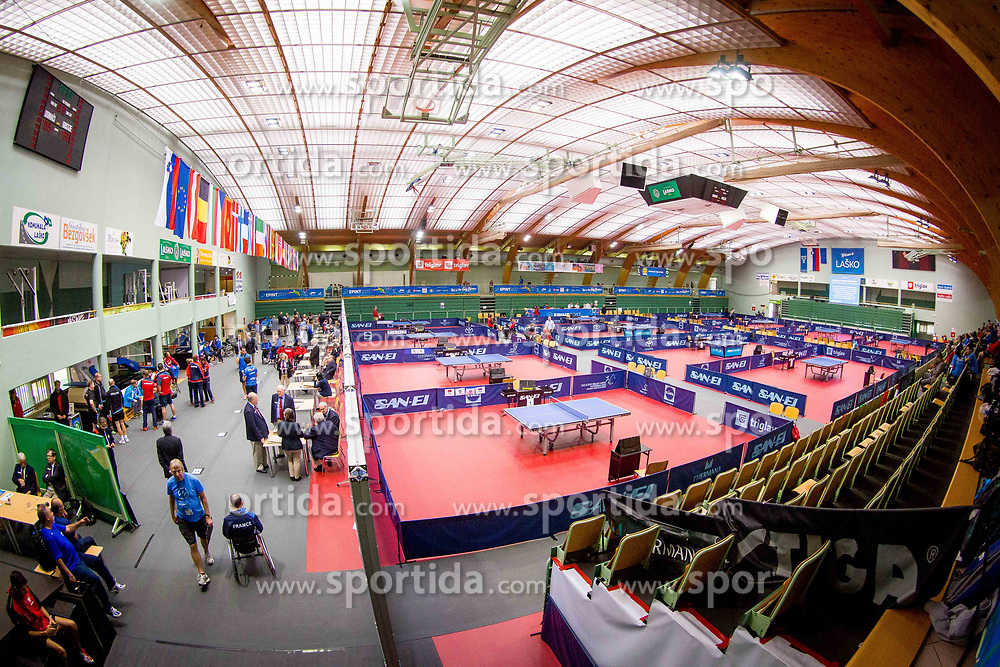 Day 5 of 15th EPINT tournament - European Table Tennis Championships for the Disabled 2017, at Arena Tri Lilije, Lasko, Slovenia, on October 2, 2017. Photo by Ziga Zupan / Sportida