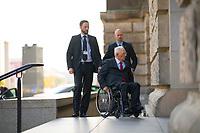 DEU, Deutschland, Germany, Berlin, 05.09.2017: Bundesfinanzminister Dr. Wolfgang Schäuble (CDU) bei der Ankunft am Deutschen Bundestag.