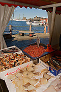Fish and fresh Sea Food on the Fish_Market (Fisketorget) in Bergen, western Norway