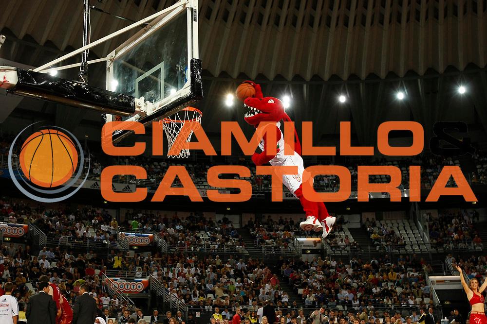 DESCRIZIONE : Roma Nba Europe Live Tour 2007 Lottomatica Virtus Roma Toronto Raptors<br /> GIOCATORE : Mascotte<br /> SQUADRA : Toronto Raptors<br /> EVENTO : Nba Europe LIve Tour 2007<br /> GARA : Lottomatica Virtus Roma Toronto Raptors<br /> DATA : 07/10/2007<br /> CATEGORIA : Ritratto<br /> SPORT : Pallacanestro<br /> AUTORE : Agenzia Ciamillo-Castoria/G.Cottini