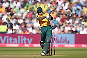 Alex Hales of Notts Outlaws batting during the Vitality T20 Finals Day 2019 match between Notts Outlaws and Worcestershire Rapids at Edgbaston, Birmingham, United Kingdom on 21 September 2019.