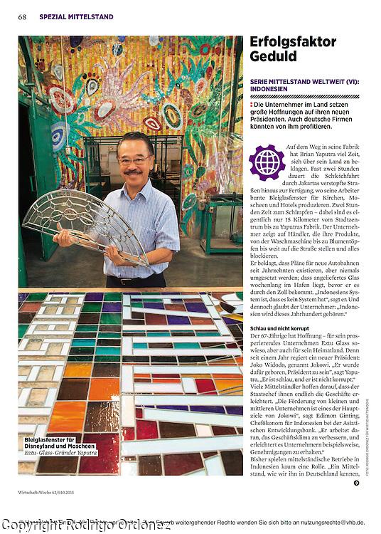2015 10 09 Tearsheet WirtschaftsWoche SMEs in Indonesia print Eztu Glass