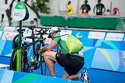 Behind the scenes, Para-triathlon at Rio 2016 Paralympic Games, Brazil